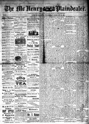 McHenry Plaindealer (McHenry, IL), 16 Feb 1881