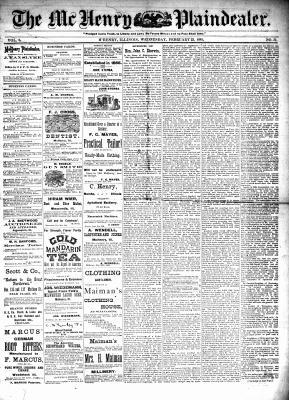 McHenry Plaindealer (McHenry, IL), 23 Feb 1881