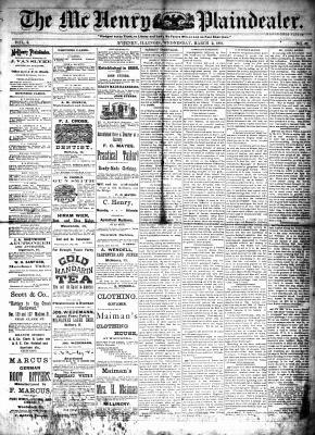 McHenry Plaindealer (McHenry, IL), 2 Mar 1881