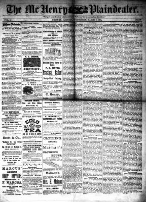McHenry Plaindealer (McHenry, IL), 9 Mar 1881