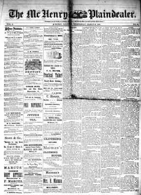 McHenry Plaindealer (McHenry, IL), 16 Mar 1881