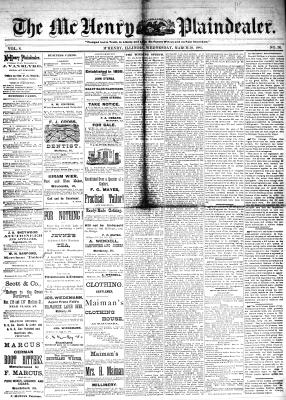 McHenry Plaindealer (McHenry, IL), 30 Mar 1881