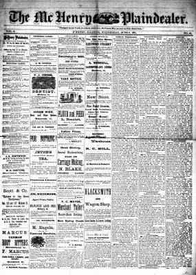 McHenry Plaindealer (McHenry, IL), 8 Jun 1881