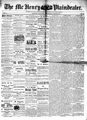 McHenry Plaindealer (McHenry, IL), 22 Jun 1881