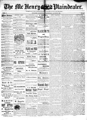 McHenry Plaindealer (McHenry, IL), 29 Jun 1881