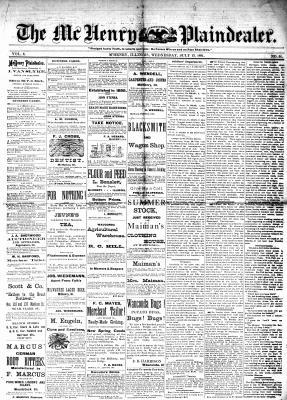 McHenry Plaindealer (McHenry, IL), 13 Jul 1881