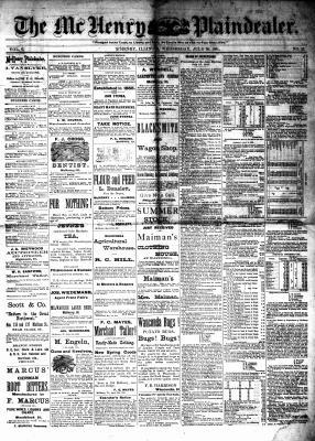 McHenry Plaindealer (McHenry, IL), 20 Jul 1881