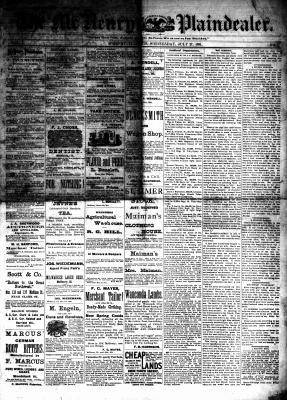 McHenry Plaindealer (McHenry, IL), 27 Jul 1881