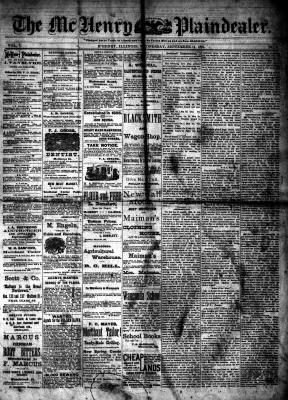 McHenry Plaindealer (McHenry, IL), 14 Sep 1881