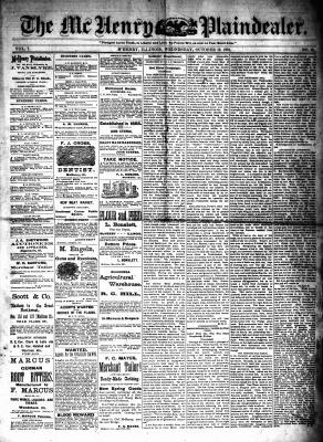 McHenry Plaindealer (McHenry, IL), 12 Oct 1881