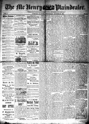 McHenry Plaindealer (McHenry, IL), 26 Oct 1881