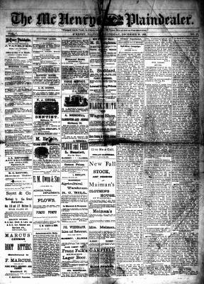 McHenry Plaindealer (McHenry, IL), 28 Dec 1881