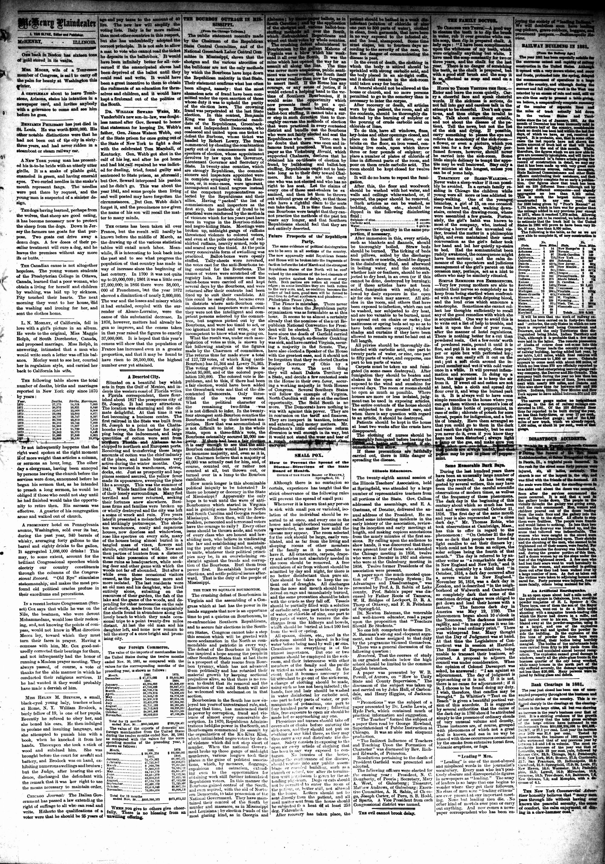 McHenry Plaindealer (McHenry, IL), 11 Jan 1882