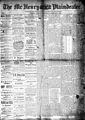 McHenry Plaindealer (McHenry, IL), 8 Feb 1882