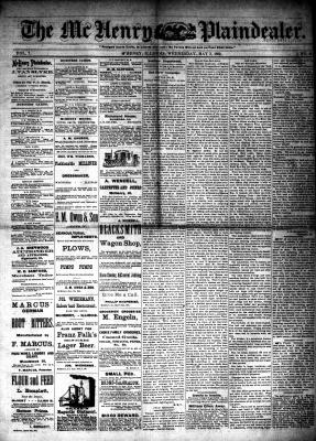 McHenry Plaindealer (McHenry, IL), 3 May 1882