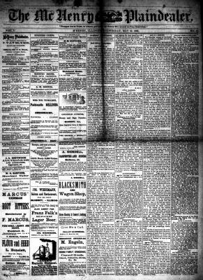 McHenry Plaindealer (McHenry, IL), 10 May 1882