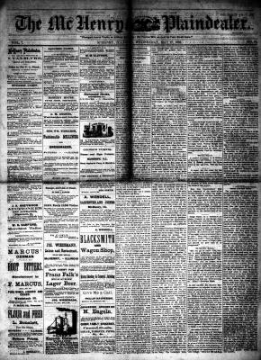 McHenry Plaindealer (McHenry, IL), 17 May 1882