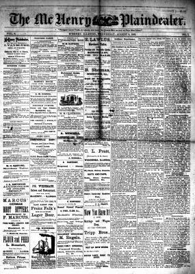 McHenry Plaindealer (McHenry, IL), 9 Aug 1882