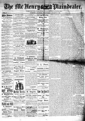 McHenry Plaindealer (McHenry, IL), 16 Aug 1882