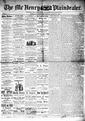 McHenry Plaindealer (McHenry, IL), 30 Aug 1882