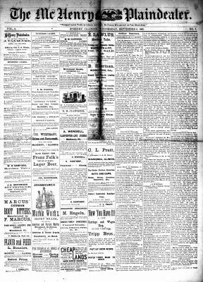 McHenry Plaindealer (McHenry, IL), 6 Sep 1882
