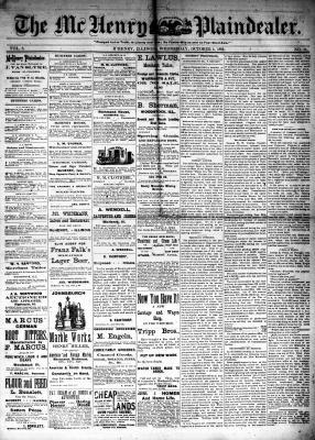 McHenry Plaindealer (McHenry, IL), 4 Oct 1882