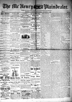 McHenry Plaindealer (McHenry, IL), 11 Oct 1882