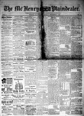 McHenry Plaindealer (McHenry, IL), 13 Dec 1882