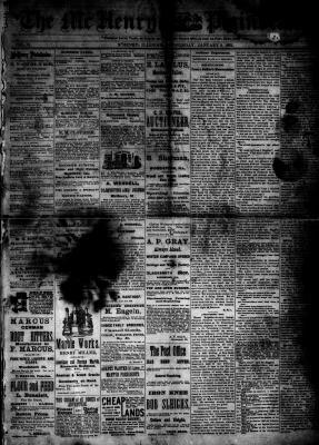 McHenry Plaindealer (McHenry, IL), 3 Jan 1883