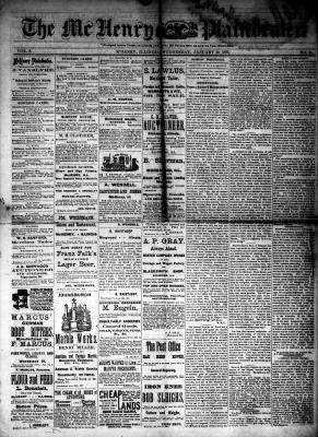 McHenry Plaindealer (McHenry, IL), 10 Jan 1883