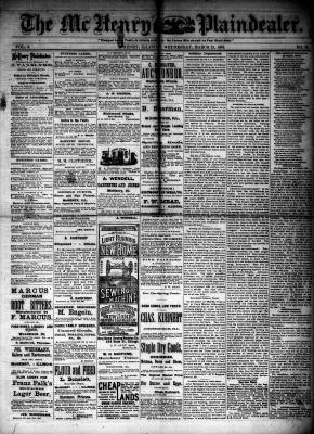 McHenry Plaindealer (McHenry, IL), 21 Mar 1883