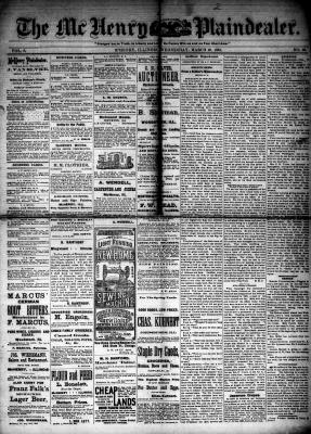McHenry Plaindealer (McHenry, IL), 28 Mar 1883