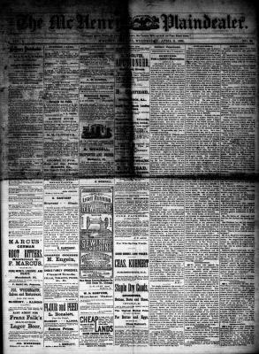 McHenry Plaindealer (McHenry, IL), 11 Apr 1883
