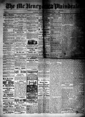 McHenry Plaindealer (McHenry, IL), 2 May 1883