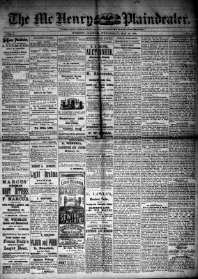 McHenry Plaindealer (McHenry, IL), 16 May 1883
