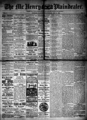 McHenry Plaindealer (McHenry, IL), 23 May 1883
