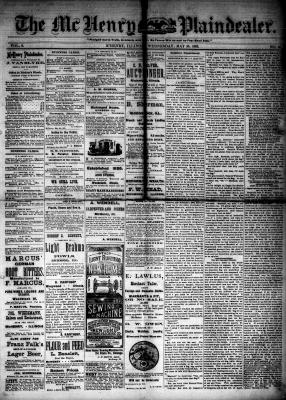 McHenry Plaindealer (McHenry, IL), 30 May 1883