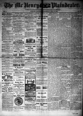 McHenry Plaindealer (McHenry, IL), 18 Jul 1883