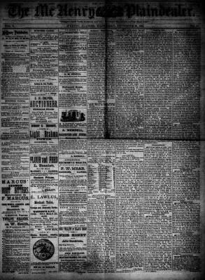 McHenry Plaindealer (McHenry, IL), 26 Sep 1883