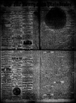 McHenry Plaindealer (McHenry, IL), 3 Oct 1883