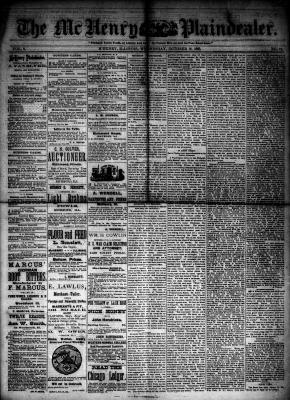 McHenry Plaindealer (McHenry, IL), 10 Oct 1883