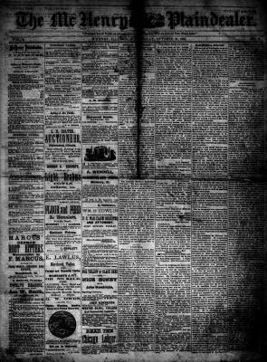 McHenry Plaindealer (McHenry, IL), 24 Oct 1883