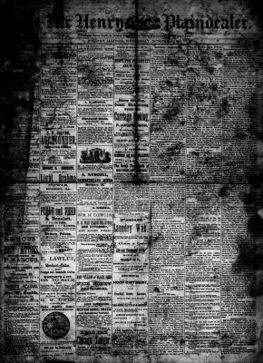 McHenry Plaindealer (McHenry, IL), 31 Oct 1883