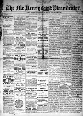 McHenry Plaindealer (McHenry, IL), 21 Nov 1883