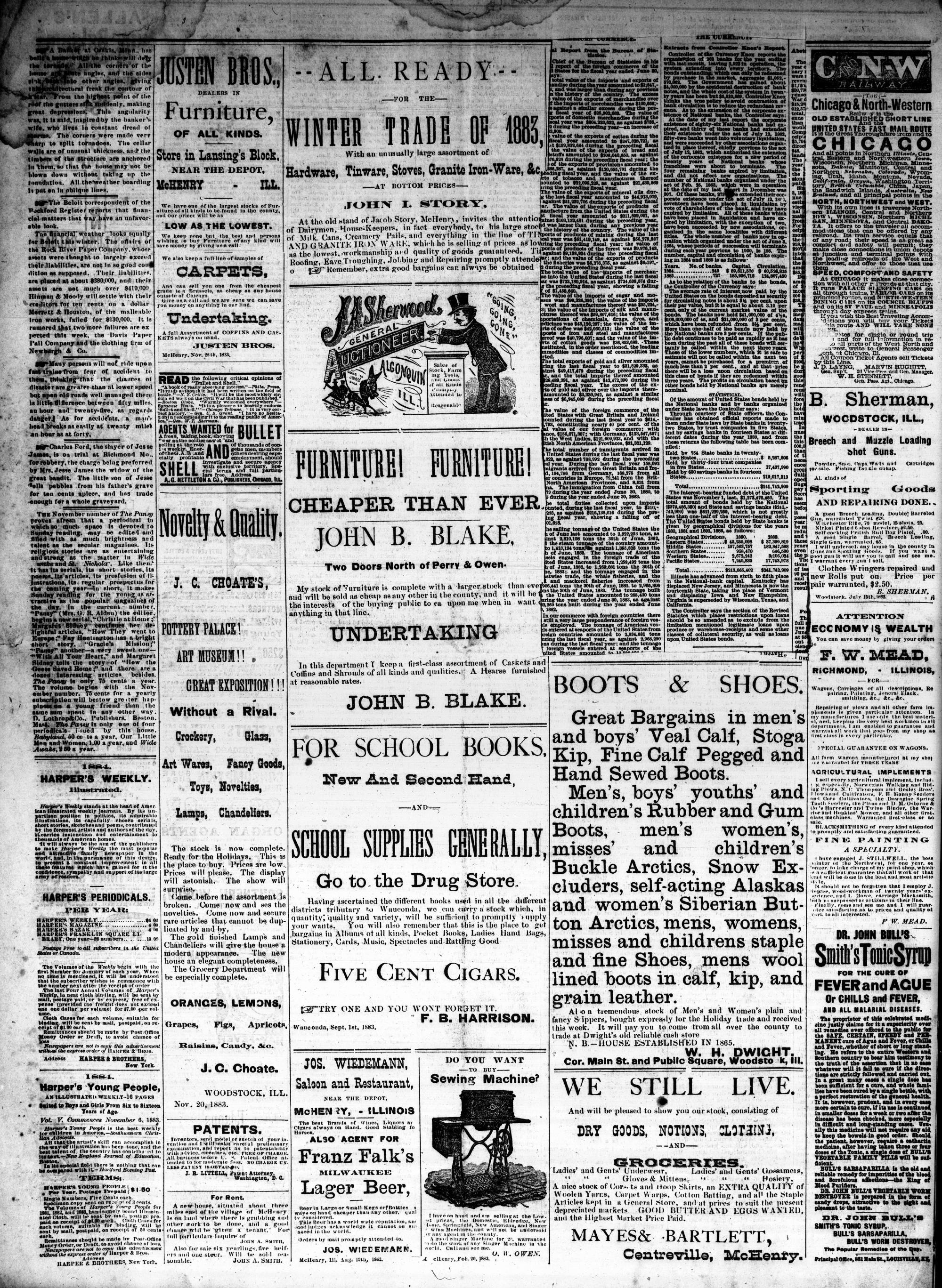 McHenry Plaindealer (McHenry, IL), 12 Dec 1883