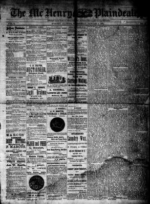McHenry Plaindealer (McHenry, IL), 2 Jan 1884