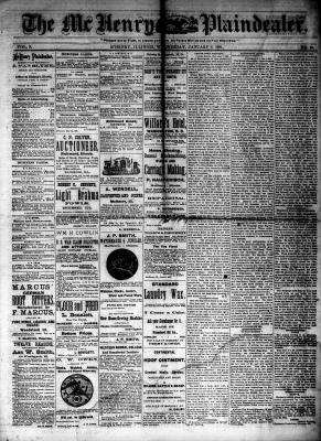 McHenry Plaindealer (McHenry, IL), 9 Jan 1884