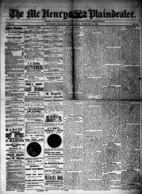 McHenry Plaindealer (McHenry, IL), 27 Feb 1884