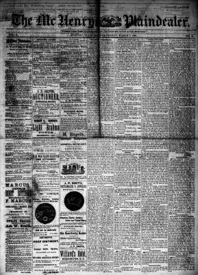 McHenry Plaindealer (McHenry, IL), 5 Mar 1884