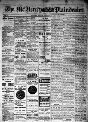 McHenry Plaindealer (McHenry, IL), 9 Apr 1884